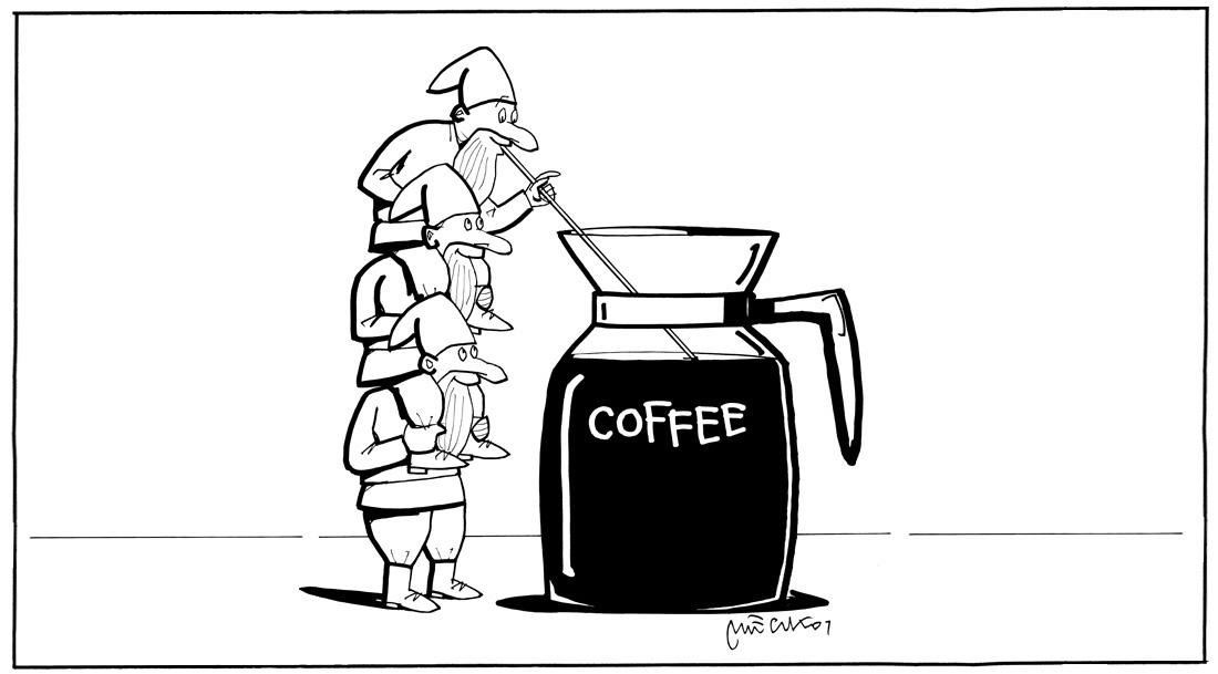Wróżenie z fusów po kawie