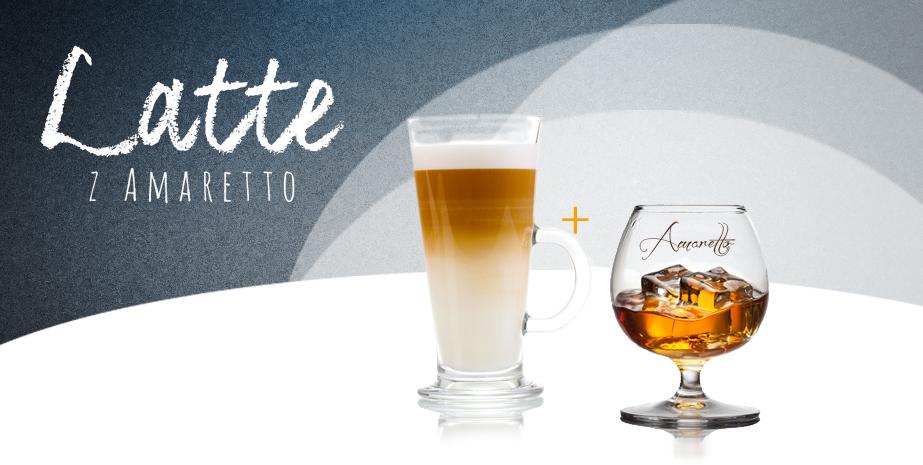 Latte z Amaretto