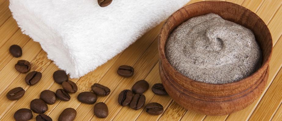 wyszczuplający peeling kawowy