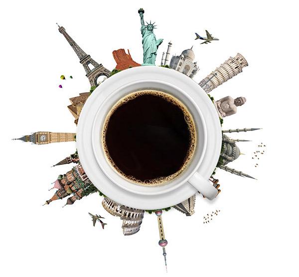 Znalezione obrazy dla zapytania kawa podroze