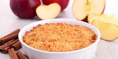 Jabłkowe Crumble