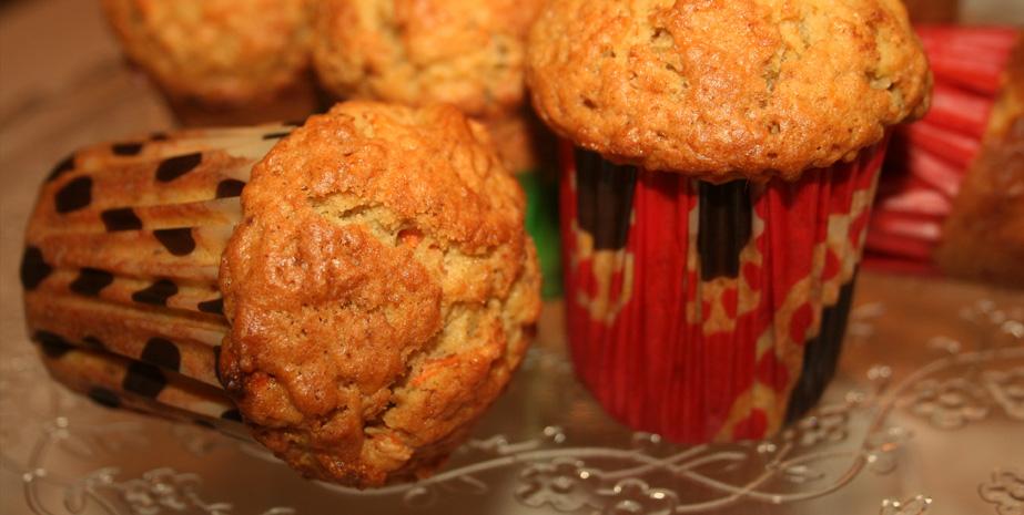 Pomarańczowe muffiny