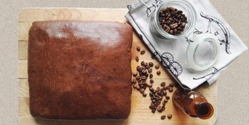 Murzynek polany kawą