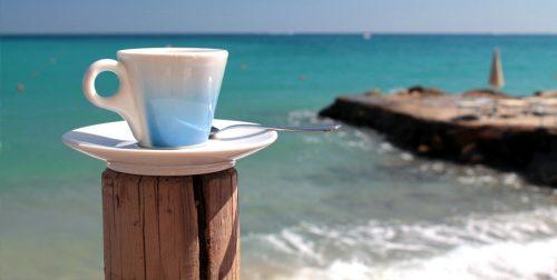 Bałtyk i kawa