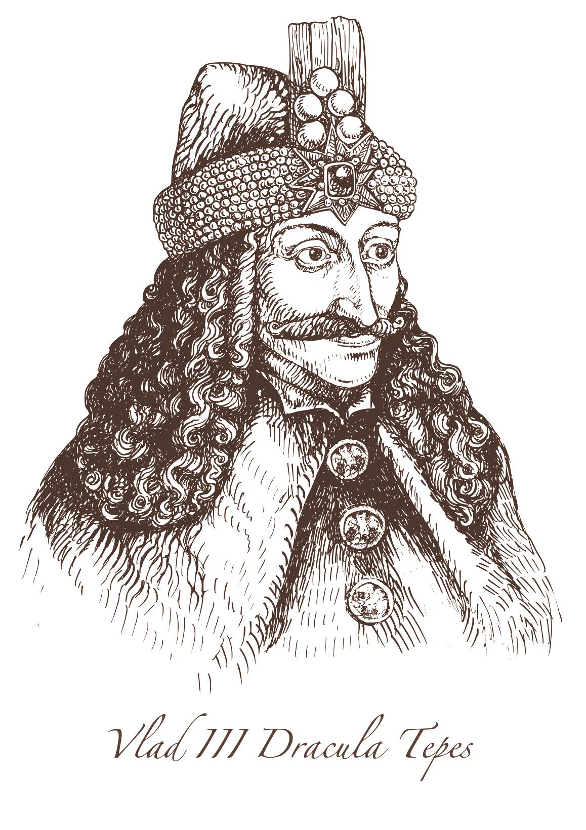 Vlad III Dracula Tepes: der historische Graf Drakula