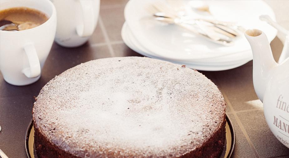 Proste ciasto migdałowe