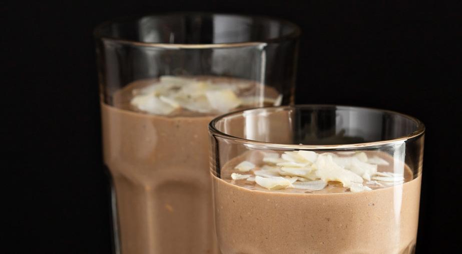 Smoothie z nutą kawy