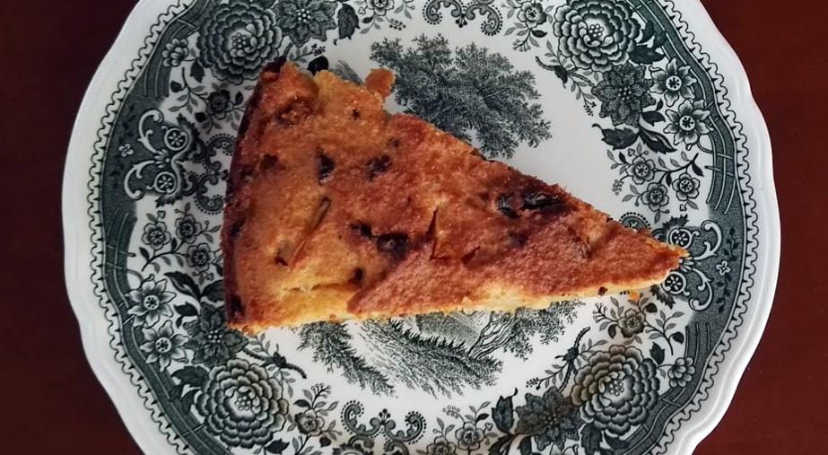 Ciasto z suszonymi figami