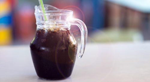 Kawa z bąbelkami