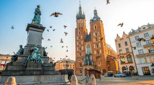 Kawa z widokiem na Kraków