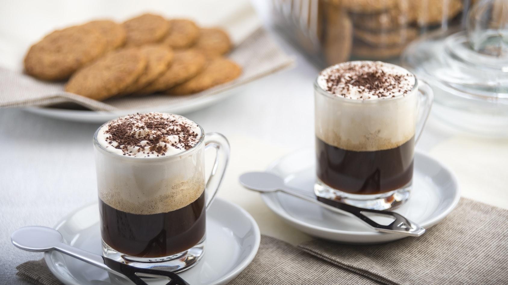 Latte z czekoladą