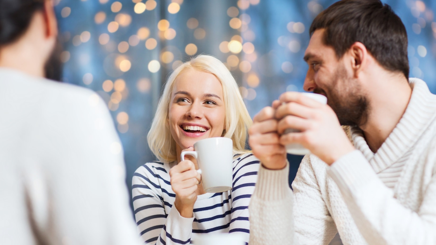 Noworoczna kawa z przyjaciółmi