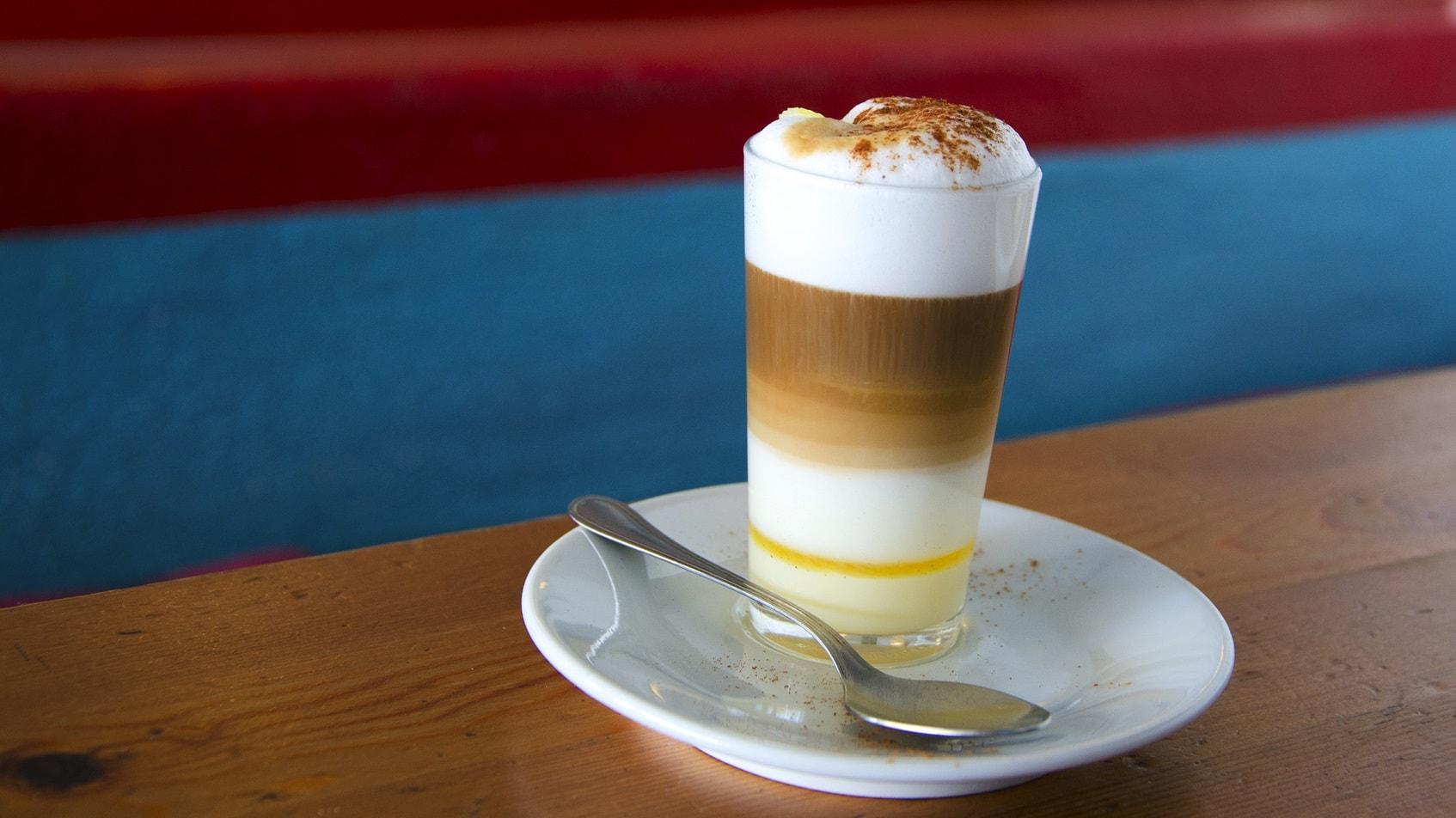 Cafe leche y leche