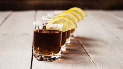 Nalewka cytrynowa z kawą