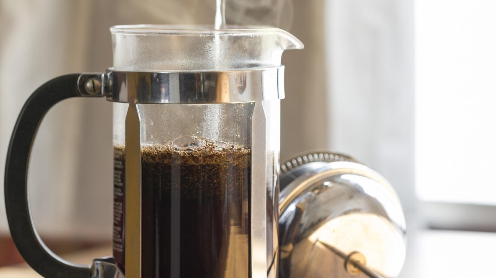 Kawa a wrzątek