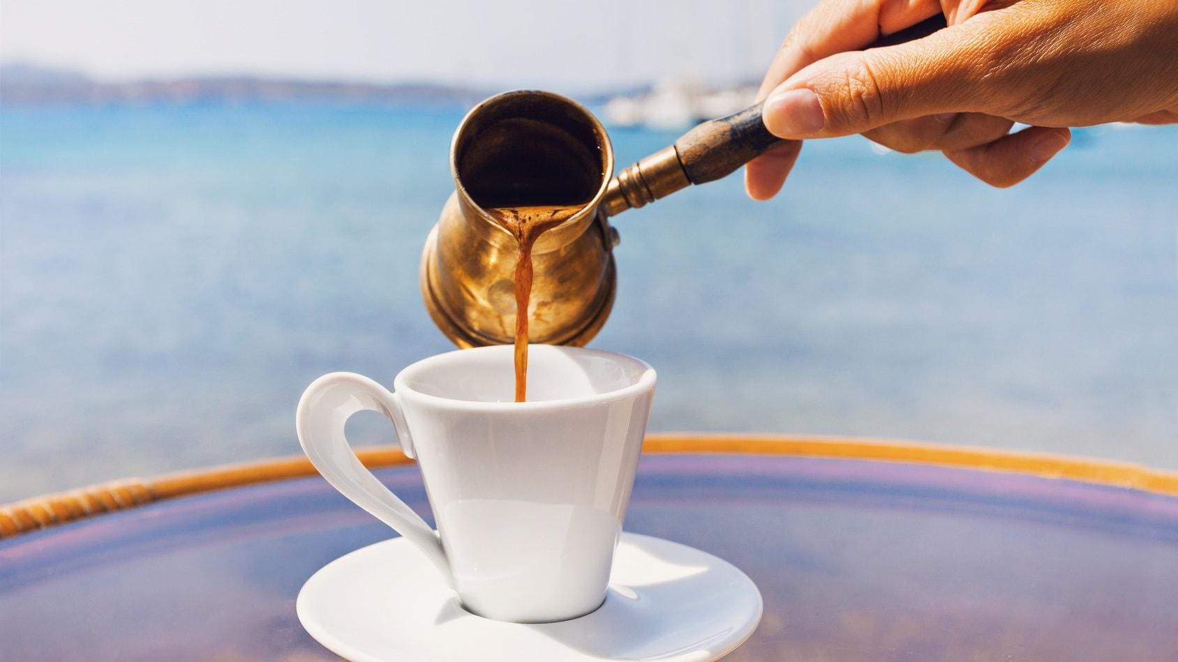 Kawa w towarzystwie