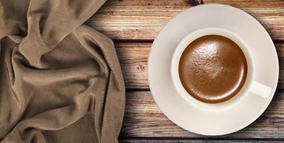 Farbowanie ubrań kawą