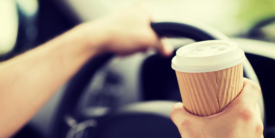 Kawa w drodze