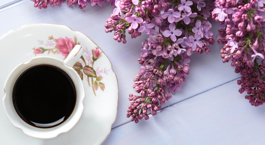 Majówka z kawą w tle